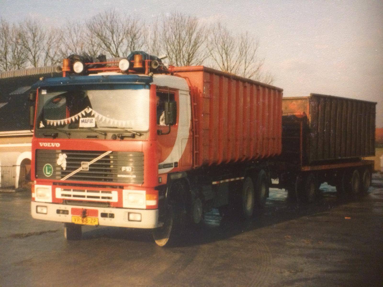 oude vrachtwagen